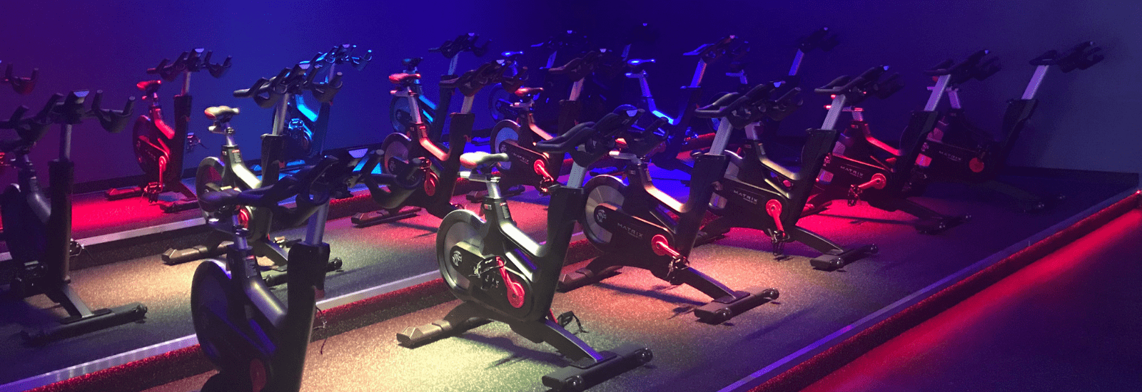 Sweat in style in our indoor cycling classes