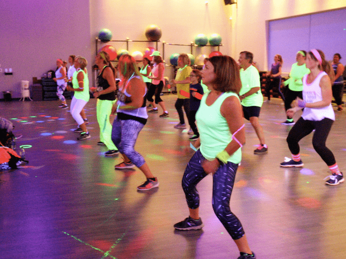 Zumba Class at DHF