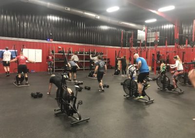 CrossFit Class at DHF